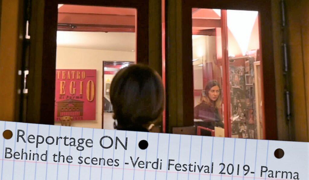 Festival Verdi behind 2019